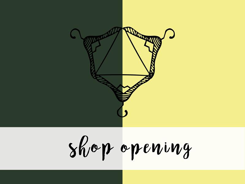 shop eröffnung